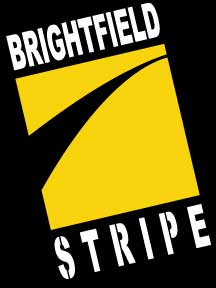 Brightfield Striping Company Logo